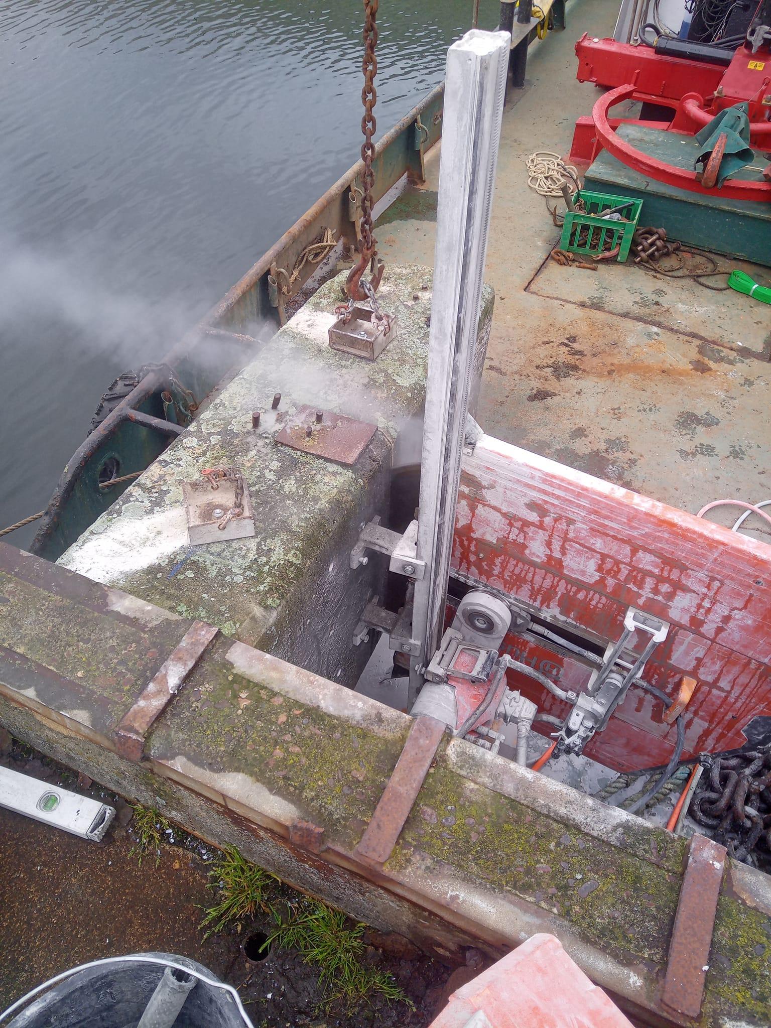 Nakskov Havn skæreopgave